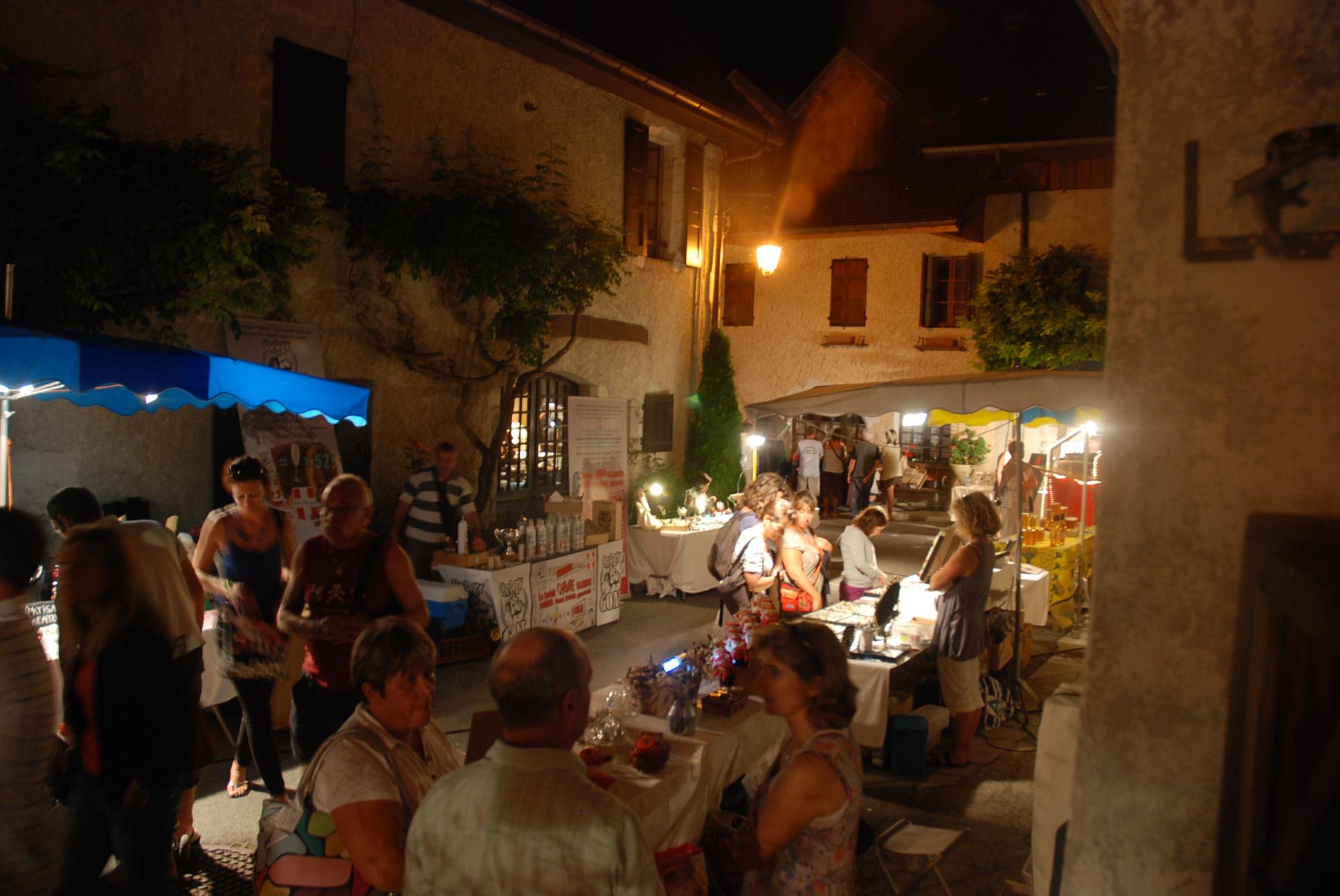 Marché nocturne Art et Artisanat