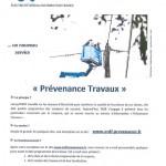 ERDF - Service Prévenance travaux