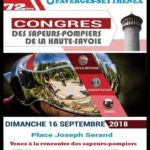 Congrès des sapeurs pompiers de la Haute-Savoie