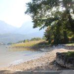 La sécheresse au bord du lac
