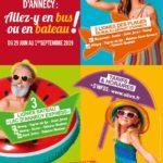 Innovation pour les liaisons plage de Duingt et Annecy