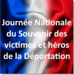 Journée Nationale du Souvenir des victimes et héros de la Déportation